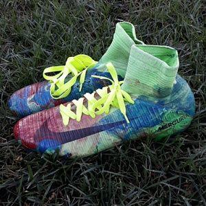 Nike mercurial custom paint size 13